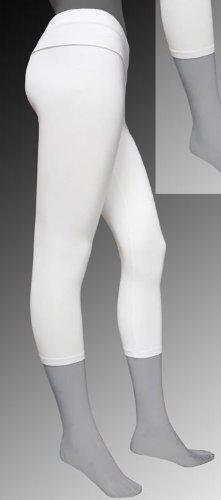 Women's Capri length fold over leggings