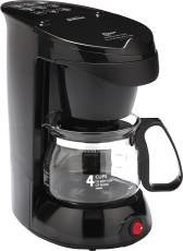 (Sunbeam 3278 4 Cup Coffee Maker, Black, 1