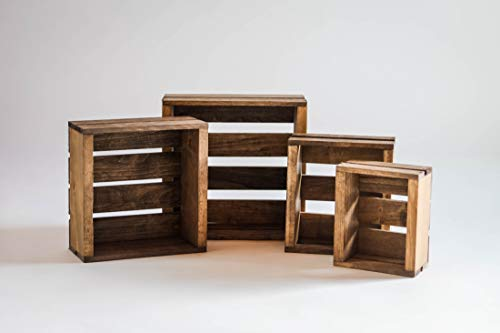 Darla'Studio 66 Set of 4 Nesting Box Wood - Box Crate