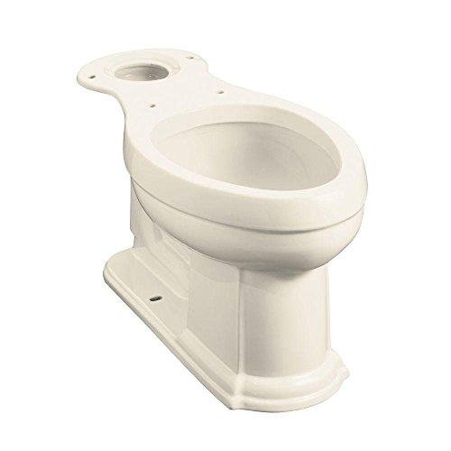 Bowl Kohler (Kohler K-4397-47 Devonshire Comfort Height Elongated Bowl, Almond)