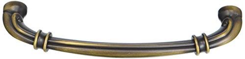 Jeffrey Alexander 317-128ABSB Lafayette Pull, Brass/Antique ()
