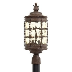 Vintage Rust Outdoor Post Light (Minka Lavery 8885-A61 3 Light Outdoor Post Mount, Vintage Rust)