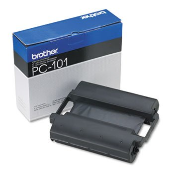 PC101 Thermal Ribbon Cartridge, Black by Brother