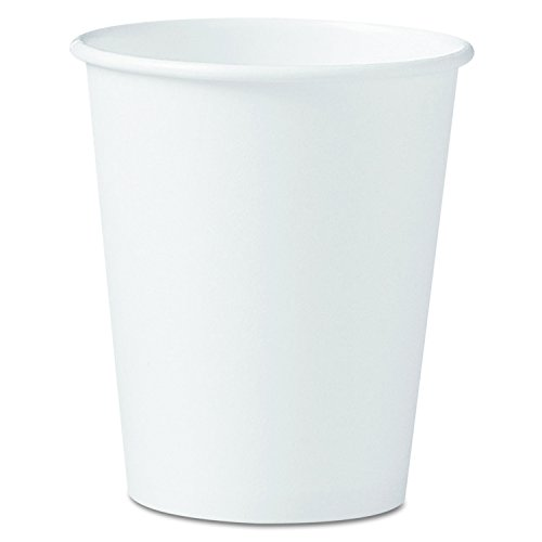 Solo Hot Cup (SOLO 370W-2050 Single-Sided Poly Paper Hot Cup, 10 oz. Capacity, White (Case of 1,000))