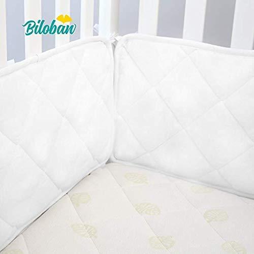 Biloban Safe Nursery Crib Bumper Pad, for Standard Size  Cri