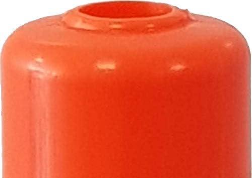 flexibel orange Poller 75 cm hoch reflektierend 3 St/ück UvV/®-Reflex Absperrpfosten selbstaufrichtend Orange