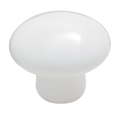 Amerock 14224WHT Allison Value Hardware Oversized Round Knob, 1-3/8-Inch, White by Amerock