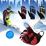 Relate Sort Touch Screen Windproof Gloves Camping & Hiking Tool - Woman Skiing Hiking Ride Camping Glove Winter Outdoor Touch Screen Windproof Gloves - Reach Shield Signature Bepaint - 1PCs