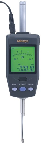 Mitutoyo 543-562A Absolute LCD Digimatic Indicator ID-H, 4-48 UNF Thread, 0.375