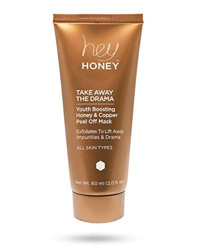 TAKE AWAY THE DRAMA - Anti-aging, Youth Boosting Honey and Copper Peel Off Mask - Hey Honey Skin Care