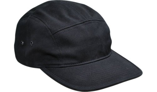 05b3bd8b92bfc Flexfit Blank Clip-Closure Classic Adjustable Jockey Hat  7005 (Black) at  Amazon Men s Clothing store  Baseball Caps