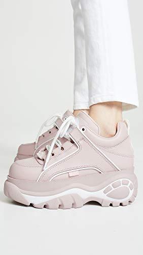 36 Sneakers Pelle Sneakers Pelle Rosa Chiaro wS80qXS
