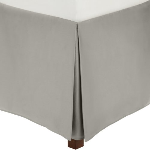 Calvin Klein Home Pearl Edge Solid Sateen Bedskirt, King
