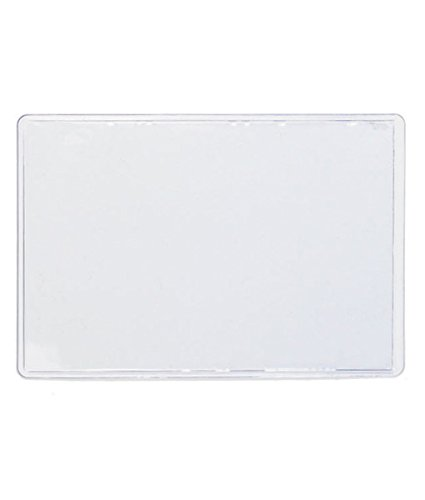 Self adhesive business card holders top load 3 12 x 2 clear 10 self adhesive card holder to stick to your slimming world starter pack book colourmoves