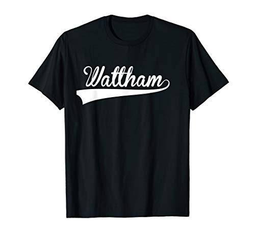 WALTHAM Baseball Styled Jersey Tee Shirt -