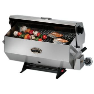 Dickinson Sea-B-Que, small ss propane bar-b-que bbq by Dickinson Marine