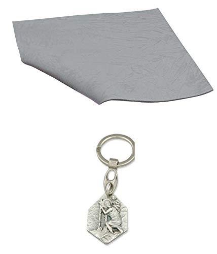 Unbekannt Isovelours 3mm beige laufende Meter 932988510096 mit Anh/änger Herz Jesu 2,5cm