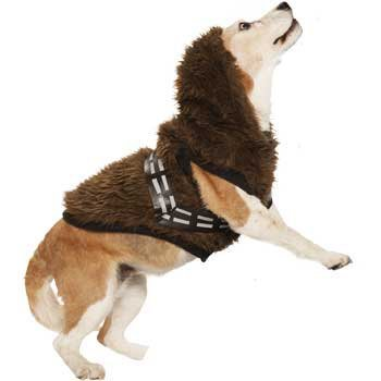 STAR WARS Chewbacca Dog Hoodie, SMALL