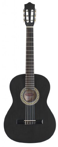 Stagg C542 4/4-Size Nylon String Classical Guitar - Black