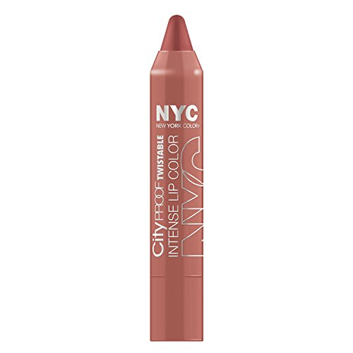 N.Y.C. New York Color City Proof Twistable Intense Lip Color, Brooklyn Brown Stone, 0.09 Ounce