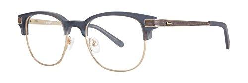 (Original Penguin The Princeton DN Dark Denim Plastic Square Eyeglasses)