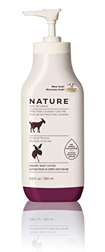 Nature by Canus Creamy Body Lotion with Fresh Canadian Goat Milk, Original, 11.8 Fluid Ounce