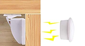 10+2 Magnetic Cabinet Drawer Cupboard Locks for Baby Kids Safety Child Proofing