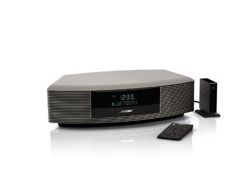 (Bose Wave Radio III Bluetooth Bundle Titanium Silver)