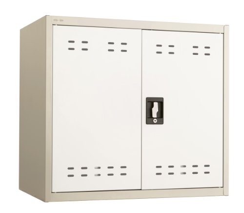 "Safco Products 5530TN Steel Storage Cabinet, 27"" High, Wall"