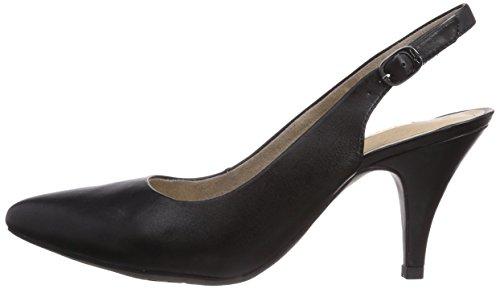 Tamaris Cuero De Para Mujer Vestir Zapatos 29614 Negro qwgrWCq4n