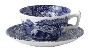 Spode Blue Italian Earthenware Teacup and - Italian Teacup