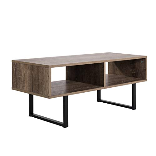 Avalon Home 62759 Tribeca Media Console Table, Brown