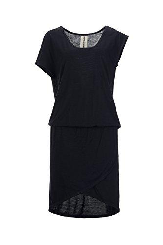 super.natural Damen W Comfort Merino Kleid Jet Black IfgmC1W