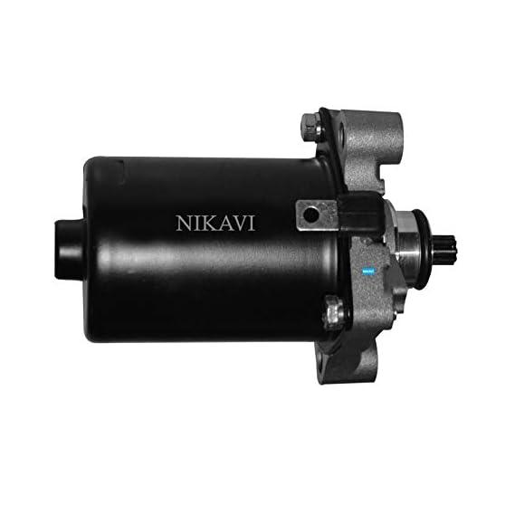 NIKAVI Self Starter Motor Assembly Compatible for Activa 2G / 3G / 4G (100cc&110cc)