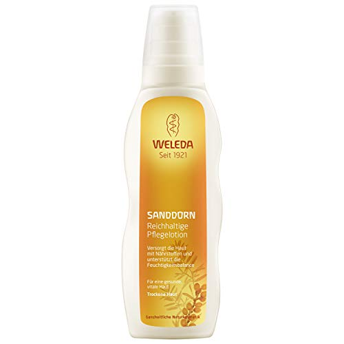 - Weleda Replenishing Body Lotion, Sea Buckthorn, 6.8 Fluid Ounce