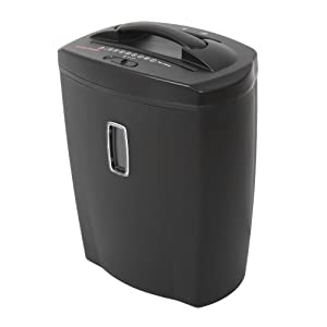 Bonsaii DocShred C156-D 12-Sheet Cross-Cut Paper/CD/Credit Card Shredder, Overload and Thermal Protection, 5.5 Gallon Wastebasket Capacity, Basket Window