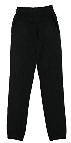 Fila Men's Fleece Elastic Ankle Sweatpants (Small, Black) ()