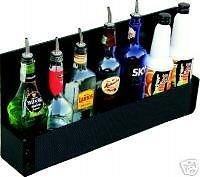 Radioactivebarman Attrezzatura Barman Bartender 10 Bott. Tasca Portabottiglie In Abs