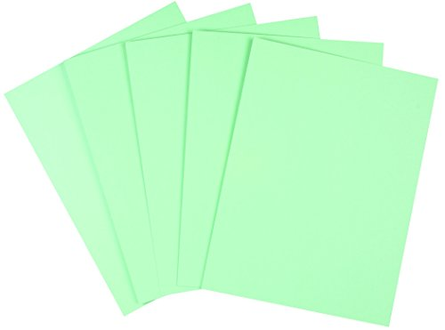 """Staples Pastel Colored Copy Paper, 8 1/2"""" x 11"""", Green, 500/Ream (14781)"""