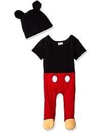 Disney TYM4603 Pijama Entero para Bebés, manga corta