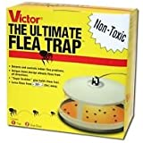 Victor M230 Ultimate Flea Trap (Pack of 2, Multy)