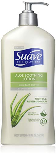 (Suave Body Lotion - Soothing with Aloe - 18 oz - 2 pk )
