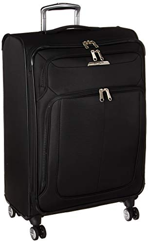 Samsonite Checked-Medium, Midnight Black