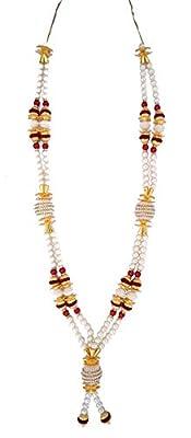 Decoration Craft Plastic & Metal Beads Garland