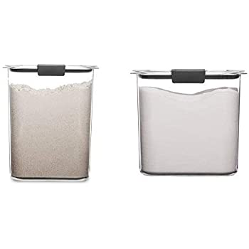 Amazon Com Rubbermaid Brilliance Pantry 16 And 12 Cup