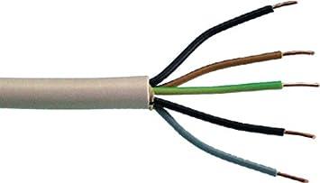 A prueba de-cable envainado MANT-LTG 5X1, 5 20 M Colour gris ...