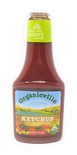 OrganicVille Organic Gluten Free Ketchup 24-Ounce Bottles (4 Pack)