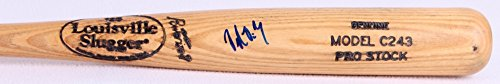 - DELMON YOUNG SIGNED LOUISVILLE SLUGGER C243 PRO STOCK BAT RAYS TWINS TIGERS O's+