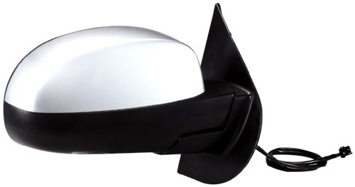 Fit System 62087G Chevrolet/GMC Passenger Side Replacement OE Style, Black, Heated Power, Folding Mirror, Chrome