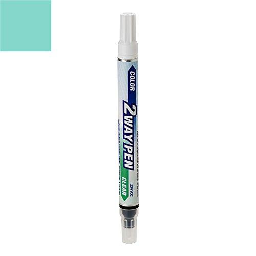ExpressPaint 2WayPen Chevrolet Blazer Automotive Touch-up Paint - Seafoam Green 43/WA9663 - Color + Clearcoat Only